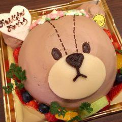 キャラクターケーキ(ジャッキー)5号 3700円(税別)