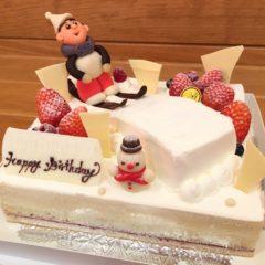 レアチーズケーキ(フリースタイルスキー)7号 5540円(税別)