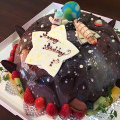 パーティーケーキ(宇宙)9号 10750円(税別)