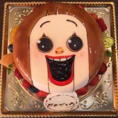 キャラクターケーキ(しょーちゃん)6号 4430円(税別)