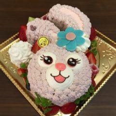 キャラクターケーキ(ステラルー)5号 3900円(税別)